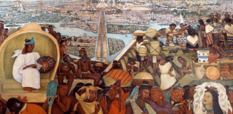 حضارة الأزتك المتوحشة : طقوس التضحية البشرية وتقديم القرابين
