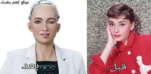 تعرف على صوفيا ، أول روبوت حامل لجنسية عالمية