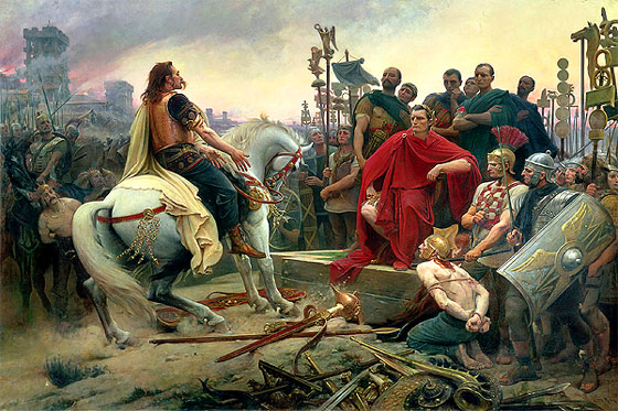 الامبراطور يوليوس قيصر : مؤسس الامبراطورية الرومانية