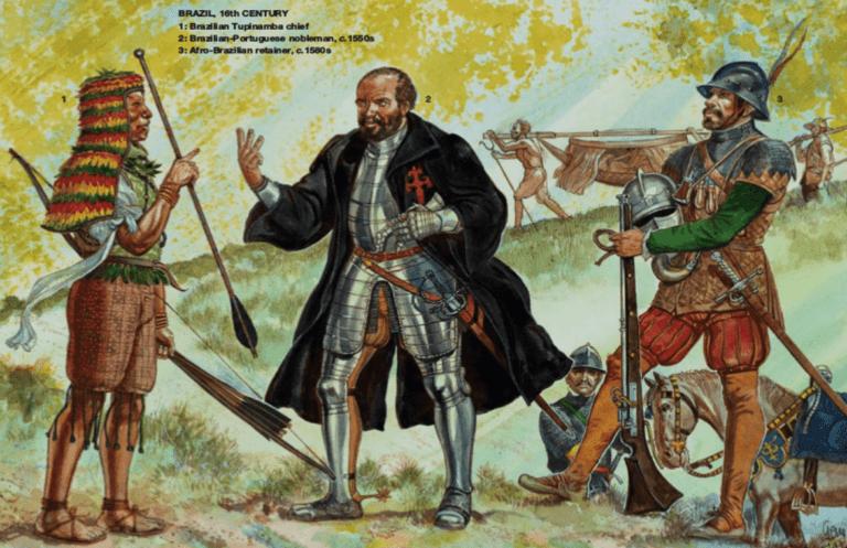 الاحتلال البرتغالي للبرازيل : عصر الإستكشفات الجغرافية