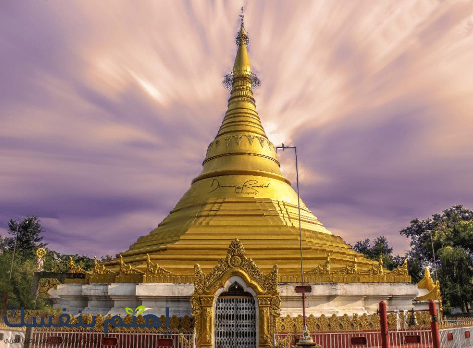 لومبيني في نيبال، مكان ولادة بوذا وأكثر مكان تقديسا عند البوذيين