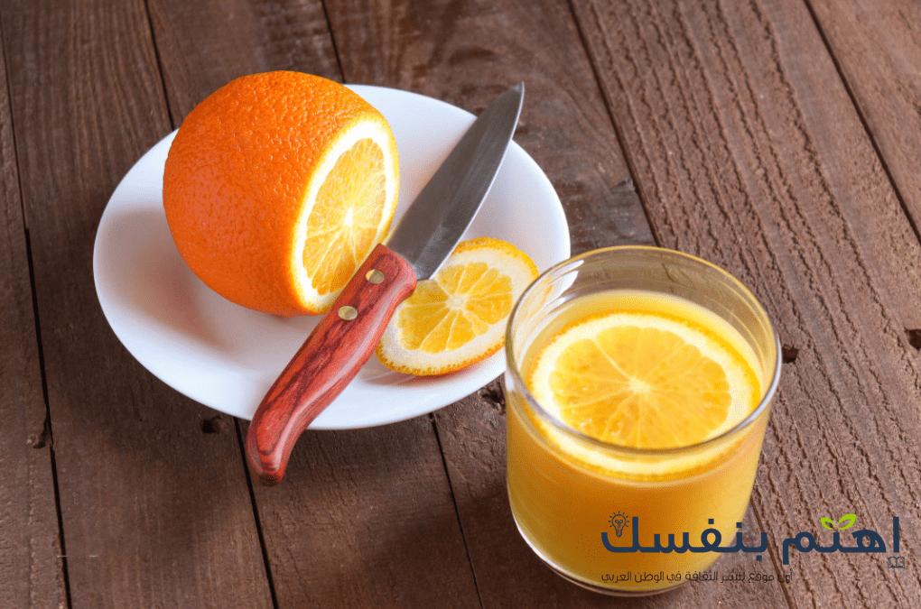 كيف اعالج الزكام : اشرب عصير البرتقال