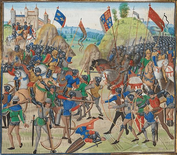 حرب المائة عام : حرب العدوين اللدودين فرنسا وإنجلترا