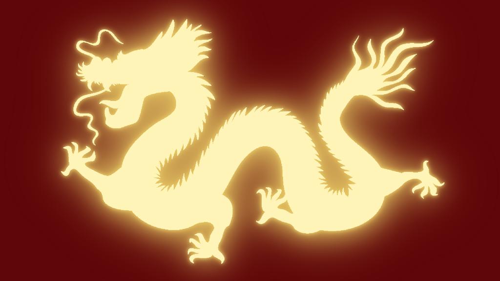 التنين الأسطوري في التراث الصيني