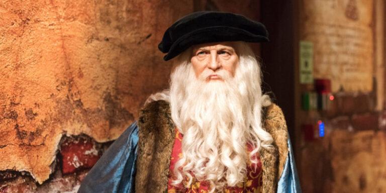 من هو ليوناردو دافنشي : الرجل العبقري الذي سبق عقله زمانه
