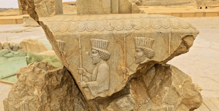 بقايا تاريخية من حضارة الفرس