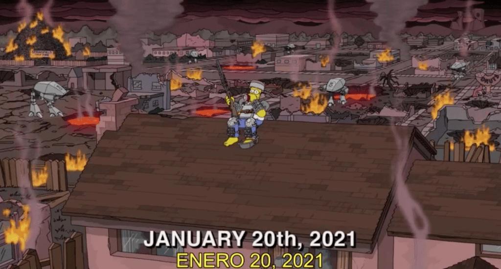 تنبؤات مسلسل سيمبسون لعام 2021
