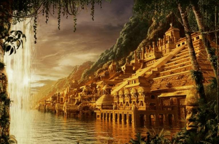 أسطورة مدينة إلدورادو الضائعة : مدينة الذهب المفقودة