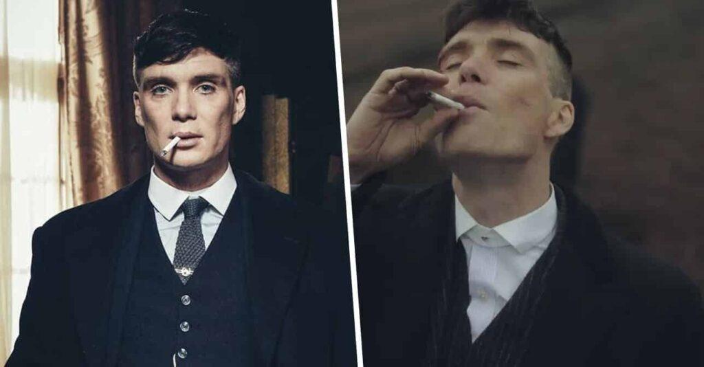 تومي شيلبي يدخن