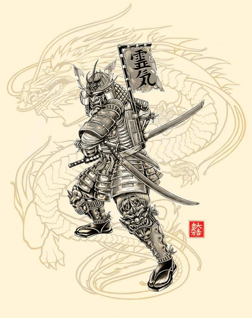 محاربو الساموراي في اليابان