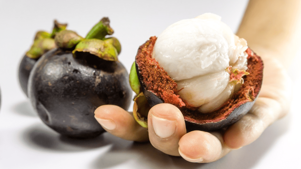 فاكهة المانجوستين : مذاق مميز وفوائد صحية جمة