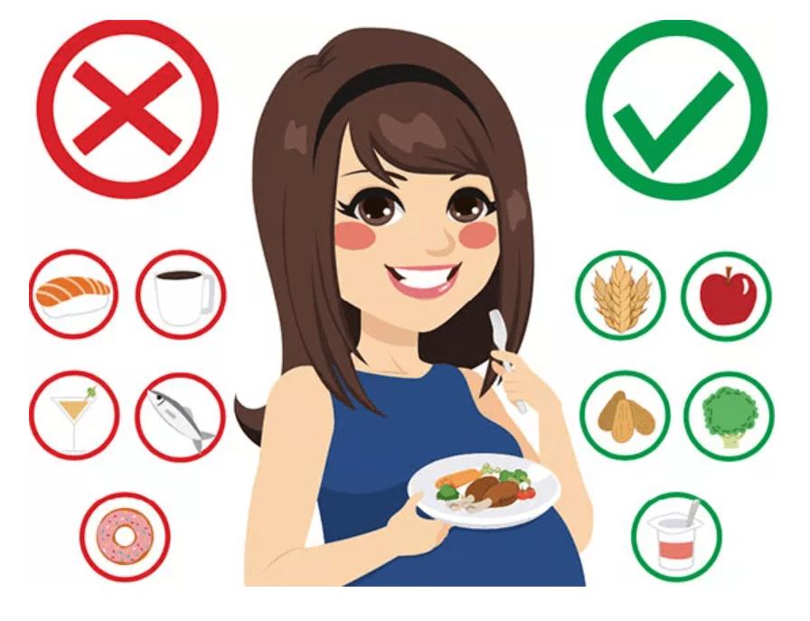 قائمة بأفضل الأغذية والمكملات الأساسية للنساء الحوامل