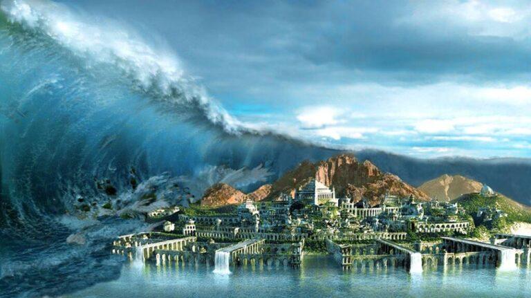 مدينة أتلانتس المفقودة في أعماق المحيط : بين الحقيقة والخيال