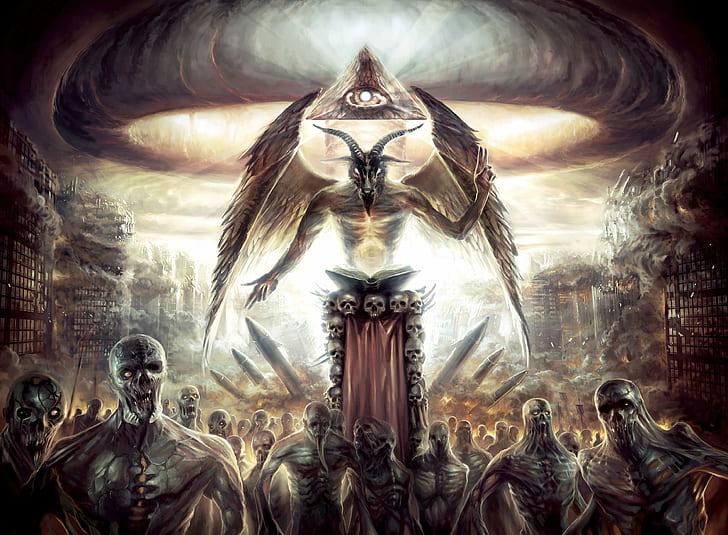 عبدة الشيطان : طقوسهم و رموزهم و كنيستهم المثيرة للجدل